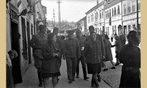 Atmosfera u Užicu tokom prvomajskog praznika 1945.