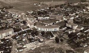 Centar Požege pedesetih