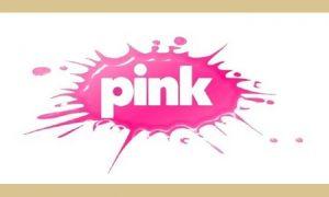 Na daleko poznata ružičasta mrljica, logo Pinka