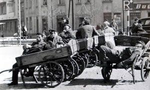 Beogradski nosači su bili stacionirani kod Železničke stanice