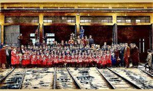 Užički železničari sa svojim štićenicima na Vrbicu