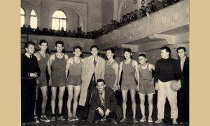 Prva užička košarkaška ekipa u sali Sokolane