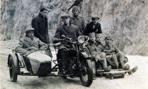 Pred trku boba i motora sa balanserom na Zlatiborskom putu od nekadašnje Ankine kafane do Aleksandrovog mosta