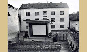 Bašta bioskopa Zlatibor prema ulici