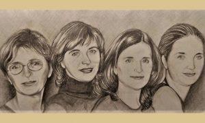 Mikoševe ćerke, sestre Grujičić udate Zorica Pašić, Ceca Mladenović, Dara Kostić i Ana Grujičić