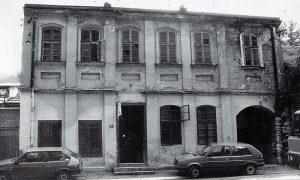 """Nekadašnji Hotel """"Orlić"""", kasnije poljoprivreda apoteka prema ulici"""