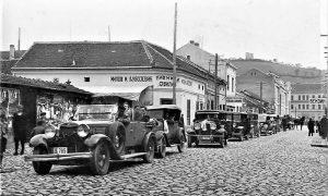 Glavna ulica u Užicu pred Drugi svetski rat