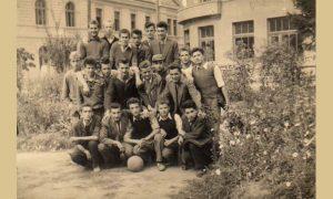 Reprezentacija Gimanzije 1949/50 u Malom parku