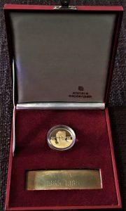 Titov zlatnik koji je davan kao priznanje u januaru 1979.