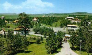 """Jedno od najpopularnijih mesta na Zlatiboru 1979. god. """"Mlečni Restoran"""" (foto Duško Filipović)"""