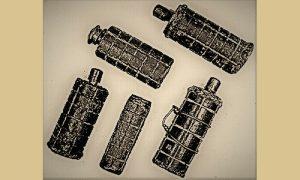 Bombe koje su pravili majstori od vodovodnih cevi u partizanskoj fabrici oružja