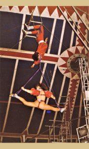 Artisti na trapezu