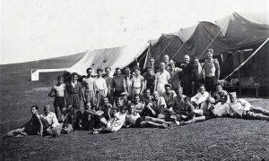 Fotografija sa Zlatibora kada je počela sa radom Škola za bezmotorne letilice