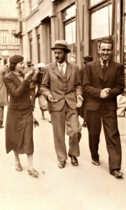S desna Dušan, Branko Popović i Marija 1939. pred Nedoklančevu pogibiju
