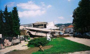 Srušena Pošta u NATO agresiji