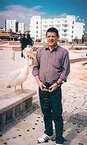 Ambasador Basara sa drugarčićem u Nikoziji