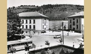 Zgrade Narodnog muzeja šezdesetih godina 20. veka