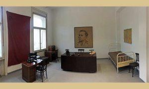 Soba u kojoj je boravio Tito, muzejska postavka