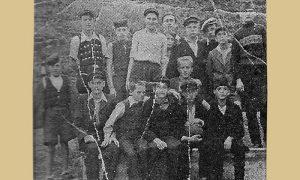 Taćovi Dovarjaši 1943. godine, novinska fotografija