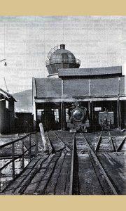 Okretnica depo za lokomotive, vodotoranj
