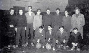 Prvi užički košarkaši 1950.