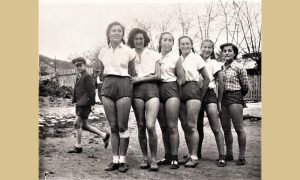 Prve užičke košarkašice 1950.