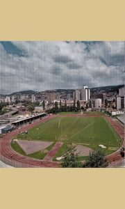 Stadion osamdesetih godina 20. veka