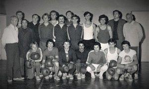 "Bokserski klub ""Sloboda"" sa trenerom Mišom Tošićem"