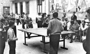 Mišo Nikitović igra za užičku Gimnaziju u Čačku 1961. godine