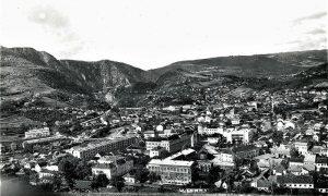 Panorma Užica pedesetih godina 20. veka