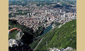 Panorama Užica, foto Milija Dikić