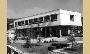 Narodna biblioteka na Trgu nakon završetka