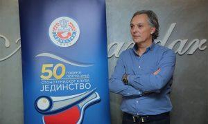 Vladimir Stojić predsednik kluba na na jubileju 50 godina Stonoteniskog kluba Jedinstvo