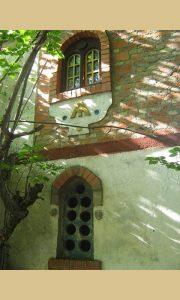 Detalj na fasadi ateljea na Palisadu