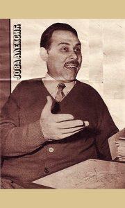 Tada popularni voditelj Jovan Aleksić
