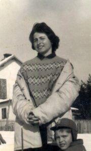Radmila Burlić u vreme kada je prvi put oduševila Užičane svojim pevanjem