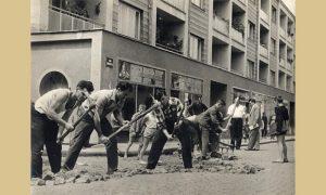 Zbog proslave su asvaltirane i sreživane u centru grada, Užičani su bili u obavezni da učestvuju