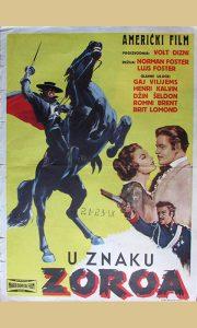 Plakat za Zoroa