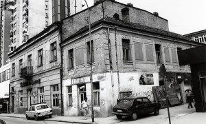 Restoran Pariz pred samo rušenje, do njega nekadašnja Bofilova pekara