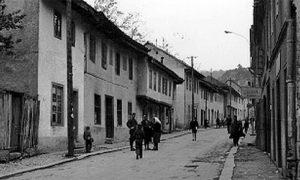 Почетак Немањанине улице некад