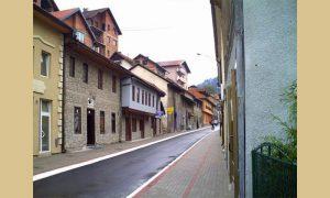 Почетак Немањанине улице сад