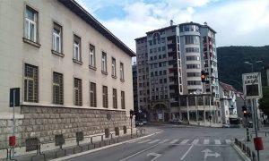 Pašićeva ulica danas - nedeljom rano ujutru