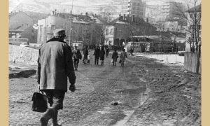 Tog decembra 1961. većina užičkih ulica je bila u katastrofalnom stanju