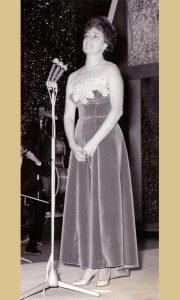 Anica Zubović u Domu JNA 1962. god.