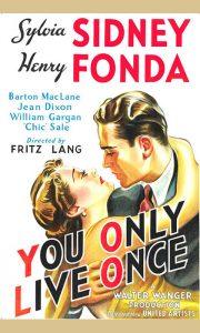 """Plakat za film """"Samo jednom se živi"""""""