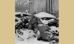 Veliki broj saobraćajnih nesreća zbog klizavih ulica ove zime