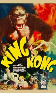 Plakat za film King Kong 1962.