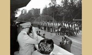 Parada 1962, Užičani su organizovano gledali direktan tv prenos u salama sa televizorima po Užicu