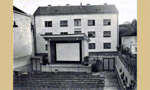 """Nekadašnja bašta bioskopa """"Zlatibor"""", zgrada iza bioskopskog platna još postoji"""