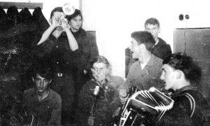 """Veseli dečaci"" na prvoj probi 1963."